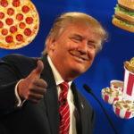 Парижский фаст-фуд предлагает съесть «Голову Трампа»